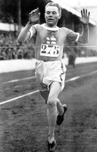 Paavo Nurmi at the 1920 Summer Olympics in Antwerp